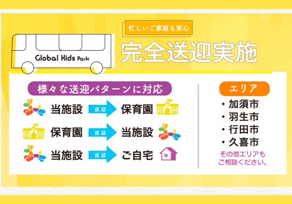 埼玉県加須エリア初出店「グローバルキッズパーク加須店」2021年9月OPEN!・画像